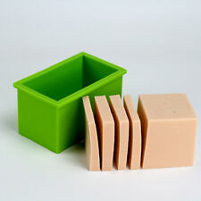 Nicole Silicone Loaf Soap Bar Molds Cake Baking Tools Diy Jelly Pudding Moulds