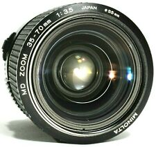 Minolta 35-70mm f/3.5 Macro Zoom Lens MD Mount with Hood UK Fast Post