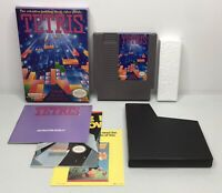 Nintendo NES Tetris Complete in Box CIB *Authentic/Cleaned/Tested* *Nice Shape*