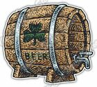 "Irish Beer Barrel St. Patrick's Day Ireland Car Bumper Vinyl Sticker Decal 5""X4"""