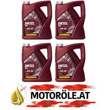20 (4x5) LITER MANNOL 5W-30 DIESEL TDI MOTORÖL MB 229.51 BMW LL-04 ACEA C3