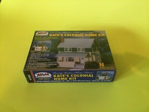 ATLAS N Scale Kate's Colonial Home Kit #2844 NIB