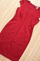 HALLHUBER wunderschönes Jerseykleid Etuikleid Gr. 42 UK 14 neu Rot