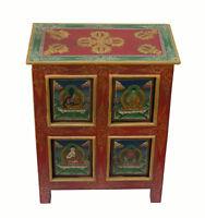 Mobile tibetain-chevet-54x43cm- Dipinto A Mano-Buddha-Tibet Nepal 25973