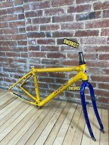 """KHS Alite 1000 Mountain Bike Frameset Alloy 16"""" Rigid Alloy Frame/Fork/Headset"""