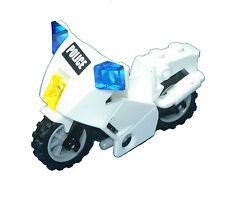 Missing Lego Brick 7235 White Police Motorcycle