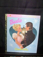 Lgb:Barbie - Cinderella - Sue Kassirer, Golden Books (Hardback, 2003)
