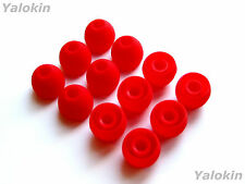 12pcs Large Red Soft Replacement Eartips for Audio-Technica In-Ear Earphones
