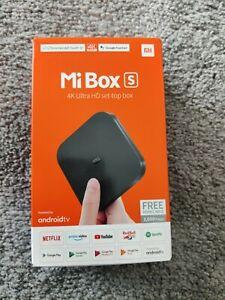 Xiaomi Mi Box S Android TV 4K Ultra HD Neu