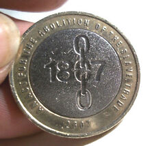 1807-2007 ABOLITION OF SLAVE TRADE £2 COIN WITH RARE MINT ERRORS!!! CIRC,