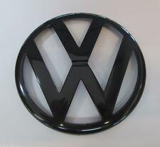 Original VW Bundeswehr Emblem Kühlergill vorn Schwarz