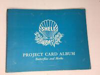 SHELL Project Card Album Butterflies & Moths Complete 60 card set Australia