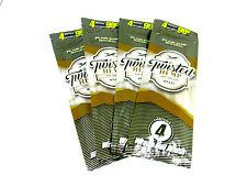 Twisted Hemp Wraps 4 Packs - 4 Wraps each - Plain Jane Natural - New Vegan
