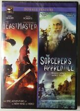 The Beastmaster + The Sorcerer's Apprentice Double Feature (DVD, 2012) BRAND NEW