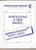 1986 USPS booklet introduction to International Priority Airmail service