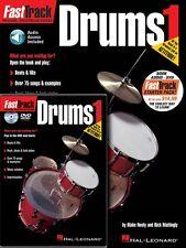 FastTrack Drums Method Starter Pack Book Online Audio DVD Pack Music 000696405