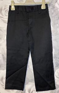 Boys Age 4-5 Years - BNWOTS School Uniform Trousers - Black