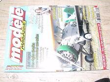 µµ Modele Magazine n°649 Plan encarté Clarky / Velocity Systeme Aeris Gee Bee