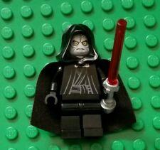 LEGO Star Wars Emperor Palpatine Minifigure 8096 yellow eyes