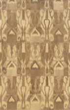"""3x8 Sphinx Abstract Casual Ivory 68005 Ikat Wool Area Rug - Approx 2' 6"""" x 8'"""