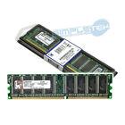 MEMORIA RAM 1GB KINGSTON DDR1 PC3200 400MHz CL3 NO ECC Regular RAM