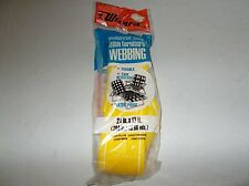 Vintage Western Auto Wizard 2 1/4 by 17 foot yellow lawn furniture webbing kit