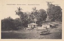 Sierra Leonean Unposted Printed Collectable Postcards