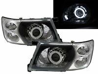 Patrol GU3 Y61 2001-2007 CCFL Projector W/ Corner Headlight Black for NISSAN RHD