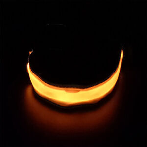 LED Bracelet Band Night Light Safety for Ankle Arm Running Walking Cycling