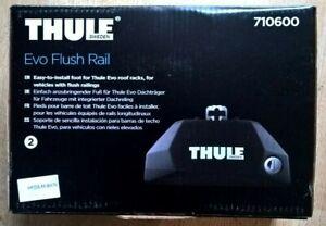 Thule 7106 Evo Flush Rail Roof Rack, 4 Feet