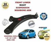 FOR VAUXHALL AGILA 1.0 1.2 1.3 2008>ON FRONT LOWER RIGHT WISHBONE SUSPENSION ARM
