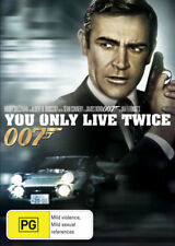 You Only Live Twice Sean Connery PG DVD & Blu-ray Movies