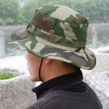 Military Army Bucket Boonie Cap Hat Fishing Camping Hiking Jungle Camo