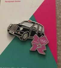 London 2012 Olympic Taxi Pin Badge