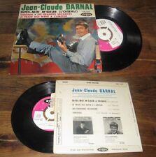 JEAN CLAUDE DARNAL - Dites Moi M'Sieur French EP Sixties Pop Vogue 63'