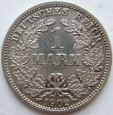 Top! 1 Mark 1902 D IN Extremely fine