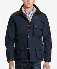 NWT Polo Ralph Lauren Men's Jacket L Navy Blue Water Resistant Utility MSRP $495
