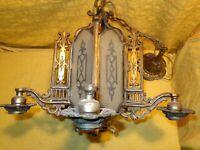 Vintage & Unique Chandelier <<< LOOK ! >>>