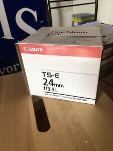 Canon TS - E 24mm f/3.5L