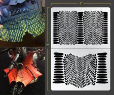 Snake Skin Airbrush Stencil Organik Schablonen Maskierung Gestaltung Organisch