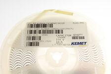 2500x C0805C104K1RAC .1uF 100V DC Ceramic Chip SMD Capacitor 0805 X7R .1mfd