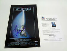 John Williams Signed Star Wars Return Of The Jedi Movie Poster Beckett Bas Coa