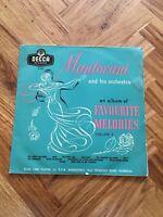 "MANTOVANI AND HIS ORCHESTRA FAVOURITE MELODIES DECCA LK4122 VOL 3  12"" VINYL LP"