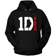 1D ONE DIRECTION Band - HOODIE Black All Size