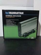 "Manhattan 703253 External Enclosure Hi-Speed USB 2.0, 3.5"" (TO063-1)"