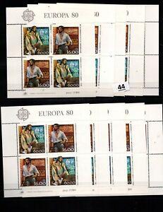 CC 10X PORTUGAL - MNH - EUROPA CEPT 1980 - VASCO DA GAMA - SHIPS - WHOLESALE