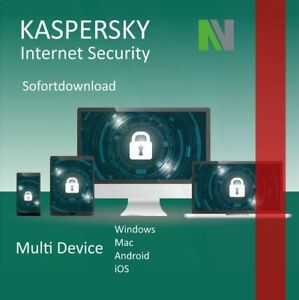 Kaspersky Internet Security 2021 MultiDevice 5 Geräte 1 Jahr