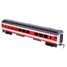 Scale Simulation Train Carriage Model Diecast Vehicle Car Toy Railroads D