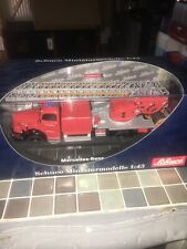 WOW EXTREMELY RARE Mercedes L6600 Aerial Ladder DL30 1950 1:43 Schuco-Minichamps