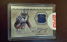 2012 Toops Five Star DeMarco Murray auto patch card #d 27 of 75.